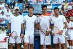 Collin Fleming, Andy Murray, Mate Pavić i Ivan Dodig