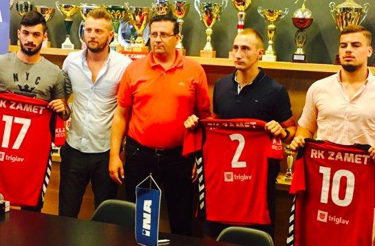 Anton Dunato, Vedran Babić, Vedran Devčić, Damir Vučko i Dujam Dunato