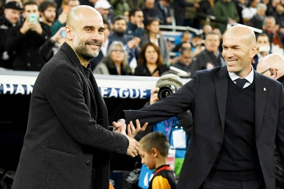 Guardiola i Zidane